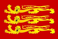 Flag of monarchs of England as Commander in Chief English Fleet (1199-1340)