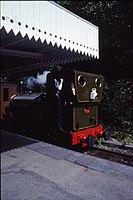 Fletcher Jennings 0-4-2T 42 (1864) No 1 'Talyllyn' Abergynolwyn, TR, N Wales 17.8.1992 (10196769463).jpg