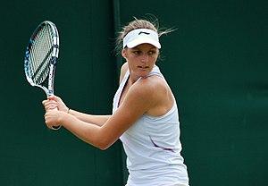 Kristýna Plíšková - Plíšková at the 2012 Wimbledon Championships