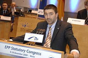 Iurie Roșca - Image: Flickr europeanpeoplesparty EPP Congress Bonn (656)