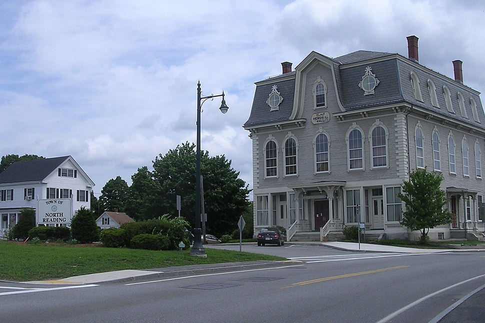 Flint Memorial Library, North Reading MA