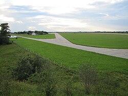 Вид аэродрома с юго-востока