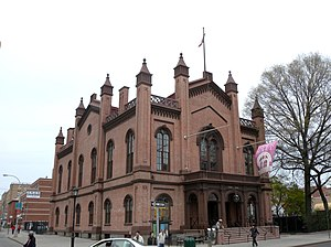 The Flushing Town Hall, now a cultural center[1]