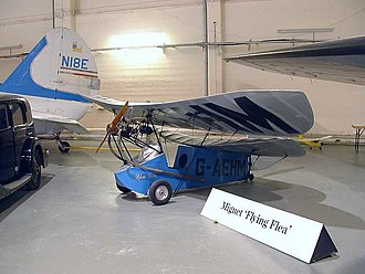 Mignet HM.14 - HM.14 at The Science Museum at Wroughton