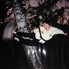 Flying Double Side Kick in Martial Arts.JPG