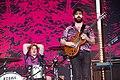 Foals Park Stage Glastonbury Festival 2019 Yannis Philippakis 013.jpg