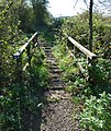 Footbridge at Motcombe Meadows - geograph.org.uk - 588997.jpg