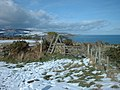 Footpath at Clay Head with Laxey and Maughold Head in the background - geograph.org.uk - 444431.jpg