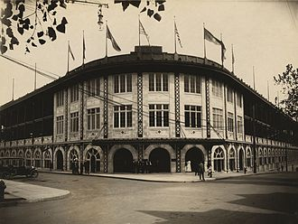Forbes Field - Image: Forbes Field exterior
