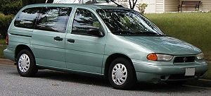 1998 Ford Windstar photographed in USA. Catego...