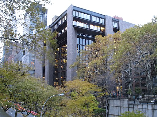 Ford foundation building 1
