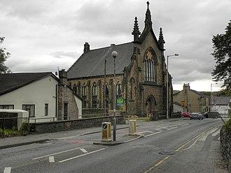 Lower Darwen - Image: Fore Street United Methodist Free Church, Lower Darwen (geograph 2515049)