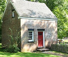 Foreman's cottage in Allaire Village
