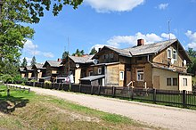Former Ligatne paper mill workers village (19th century) - panoramio.jpg