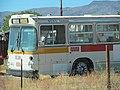 Former Muni bus in Fernley, Nevada, September 2016.jpg