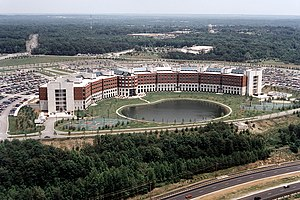 Defense Logistics Agency - The Defense Logistics Agency headquarters building in Fort Belvoir, Virginia