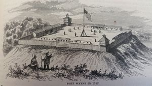 Siege of Fort Wayne - Image: Fort Wayne