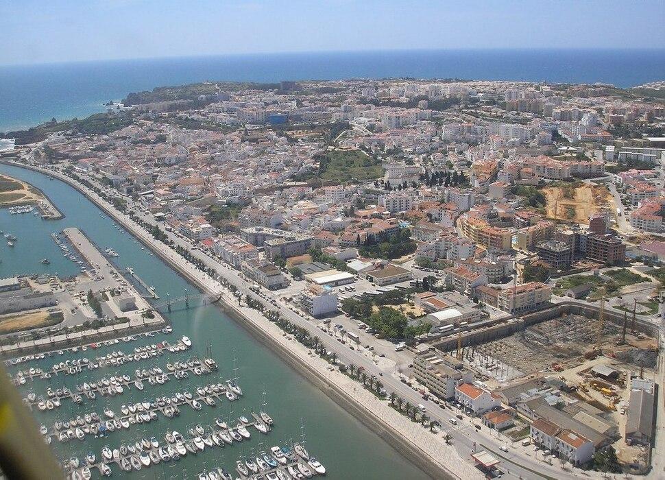 Vista aérea de Lagos