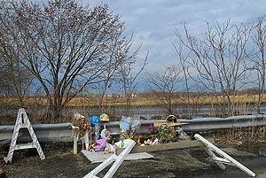 Fountain Avenue - Memorial at Fountain Avenue near Belt Parkway