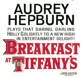 Filmlogo voor Breakfast at Tiffany's