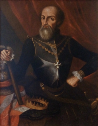 Fernando Afonso of Portugal - Portrait of Afonso de Portugal as Grand Master of the Knights Hospitaller, in the Church of Saint Blaise and Saint Lucy, Lisbon.