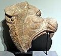 Fragment, alabaster statue of a roaring lion en profile, from Nimrud, Iraq. Iraq Museum.jpg