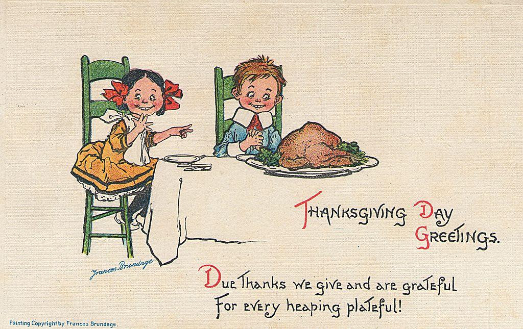 Открытки день благодарения английском