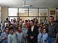 Frances Guy with children in Akar (2578744632).jpg