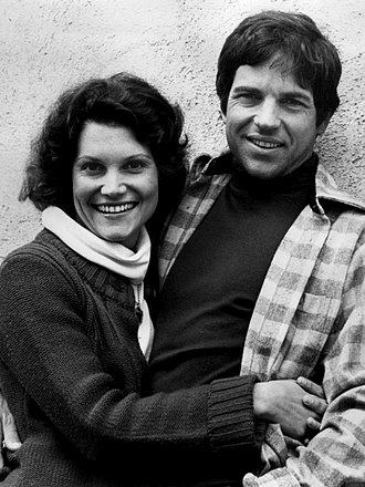 Tony Bill - Tony Bill with Frances Lee McCain in 1977
