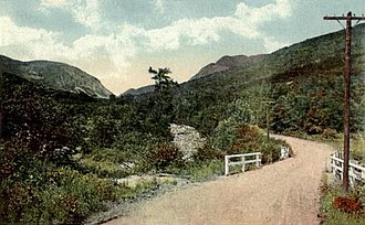 Franconia, New Hampshire - Image: Franconia Notch, NH Looking North