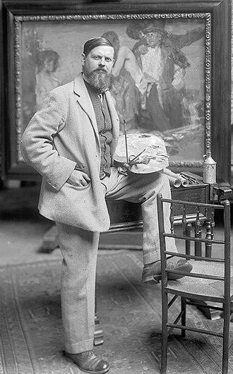 Frank Brangwyn - Frank Brangwyn c.1900