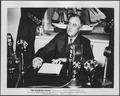Franklin D. Roosevelt having a fireside chat in Washington, D.C - NARA - 196760.tif