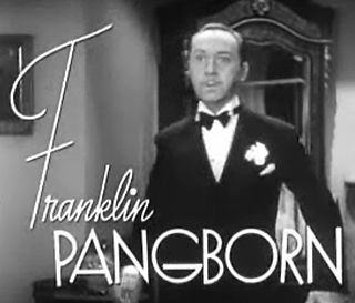 Franklin Pangborn American actor