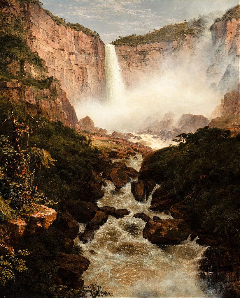 File Frederic Edwin Church The Falls Of The Tequendama