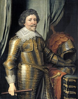 Frederick Henry, Prince of Orange - Portrait by Michiel Janszoon van Mierevel