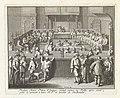 Frederik Hendrik neemt als stadhouder zitting in de Staten van Holland, 1625 Frederic Henri Prince d'Orange, prend seance au Rolle, apres avoir prête le serment à leurs H.P. en qualité de Stadhouder (titel op object), BI-B-FM-060-3.jpg