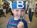 Free Comic Book Day 2012 - Captain Blake eats a chocolate pop (7186411358).jpg