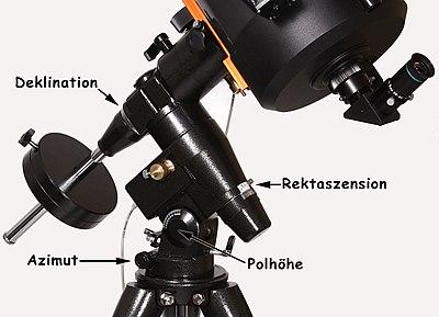Einführung in die astronomie: teleskopbedienung u2013 wikibooks
