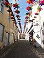 Fresnay-sur-Sarthe, Grande Rue vers l'ouest, décoration 2019.jpg