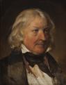 Friedrich von Amerling - Portrait of Bertel Thorvaldsen (study) - 1842.png