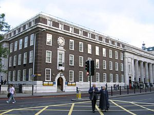 Alliance for Democracy (UK) - The Friends Meeting House in Euston, the location of early meetings.