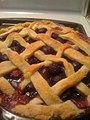 From scratch cherry pie, July 2009.jpg