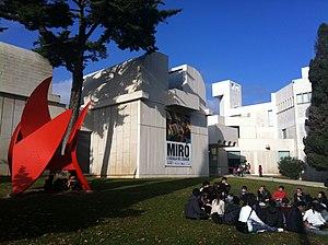 Fundació Joan Miró - Image: Fundació Joan Miro outdoors view