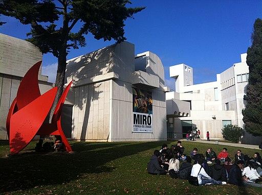 Fundacio Joan Miro outdoors view