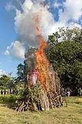 Funeral pyre in the countryside of Don Det, Laos.jpg