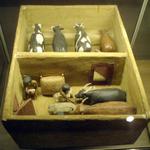 Miniatura de est�bulo 11� Dinastia