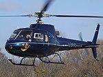 G-BRVO Aerospatiale Ecureuil AS350 Helicopter Rotorhire LLP (34325775052).jpg