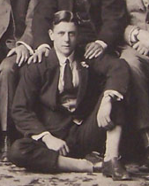 George Isherwood - G.A.M. Isherwood with the British Isles team in 1910