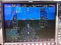 G1000 view from a Mooney M20R in flight.JPG