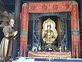 GD Guangdong Sanshui 蘆苞祖廟 chinese temple 觀世音菩薩 Guan Yin 01 statues July-2012.JPG